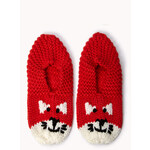 Forever 21 Cozy Knit Kitten Slippers