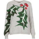Topshop Knitted Holly Jumper