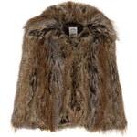 SoulCal Faux Fur Jacket Brown 12 M