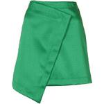 Topshop Wrap Lux Skirt