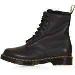 Topshop DM'S Serena Fur Trim Boots