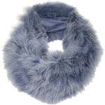 Topshop Maribou Feather Snood