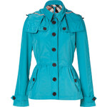 Burberry Brit Cobalt Turquoise Fordleigh Jacket