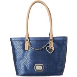 Guess Elegantní kabelka Margeaux Small Classic Tote Blue
