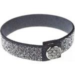 Troli Náramek Stardust Grey Crystal