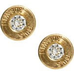 Love Bullets Lovebullets Stud Earrings Exclusive To Asos - Gold