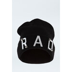 "Tally Weijl Black ""RAD"" Embellished Beanie Hat"