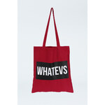 "Tally Weijl Red ""WHATEVS."" Print Tote Bag"