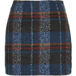 Topshop **Klein Checked Woolly Skirt by Jovonna