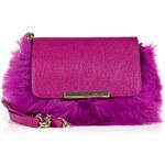Emilio Pucci Leather/Fur Mini Newton Clutch