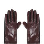 Topshop Leather Ponte Gloves