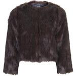 Topshop Luxe Faux Fur Jacket