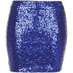 Topshop **Sequin Mini Skirt by WYLDR