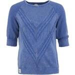 Dámský modrý svetr Bellfield Oxnard