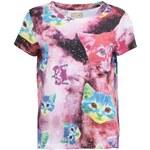 Dámské vzorované tričko Eleven Paris Acato s kočkami