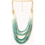 Forever 21 Favorite Layered Bead Necklace