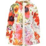 Krátký kabátek Desigual Celania s barevným vzorem