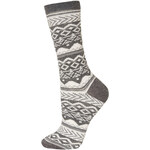 Topshop Grey Aztec Ankle Socks