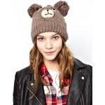 Pull&Bear Knitted Bear Hat