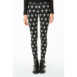 "Tally Weijl Black ""Alien"" Print Leggings"