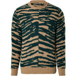 Marc Jacobs Cashmere-Wool Zebra Print Pullover