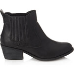 FOREVER21 Faux Leather Chelsea Boots