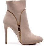 BELLE WOMEN Ženské boty se zipem