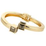 Topshop Armband mit Zierwürfeln an den Enden - Schwarz