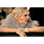 Fascinátor - Čelenka do vlasů z 20.let (The Great Gatsby)