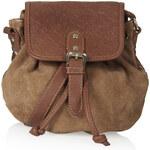 Topshop Embossed Suede Crossbody Bag