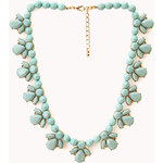 FOREVER21 Old Charm Faux Stone Necklace
