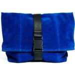 ASOS Leather Oversized Soft Clutch Bag With Seat Belt Fastening