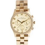 Marc By Marc Jacobs Henry Glitz Gold Watch