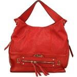 Velká červená kabelka Gionni na zip