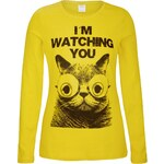 s.Oliver Long sleeve T-shirt with a cat print