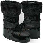 Coqui Černé dámské sněhule Snowboot Tuva 56198 Black 41-42