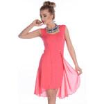 Šaty Enny 17008, červená - 5