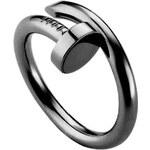ZOVI Prsten Nail černý Z213