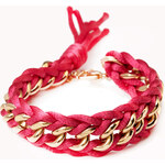 Forever 21 Sweet Side Curb Chain Bracelet