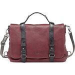Tamaris Elegantní business kabelka Lorna Satchel Bag Bordeaux 1112142-549