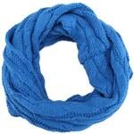 Modrá dutá šála Louche Dorris