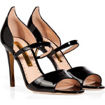 Rupert Sanderson Patent Leather Ophelia Sandals