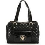 Větší černá kabelka s vnější kapsičkou Gionni
