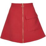 Topshop Patch Pocket A-line Skirt