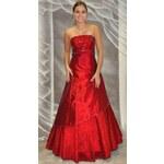 Roses Collection Plesové šaty STELLA červené
