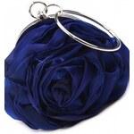 ROSES collection Společenská kabelka ROSE modrá