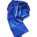 Roses Collection Společenská šála MEREDITH modrá