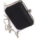 ROSES collection Společenská kabelka ADELE černá