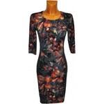 Roses Collection Zeštíhlující šaty MARTHA barevné 40