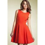 Šaty Nife S26 oranžové XL